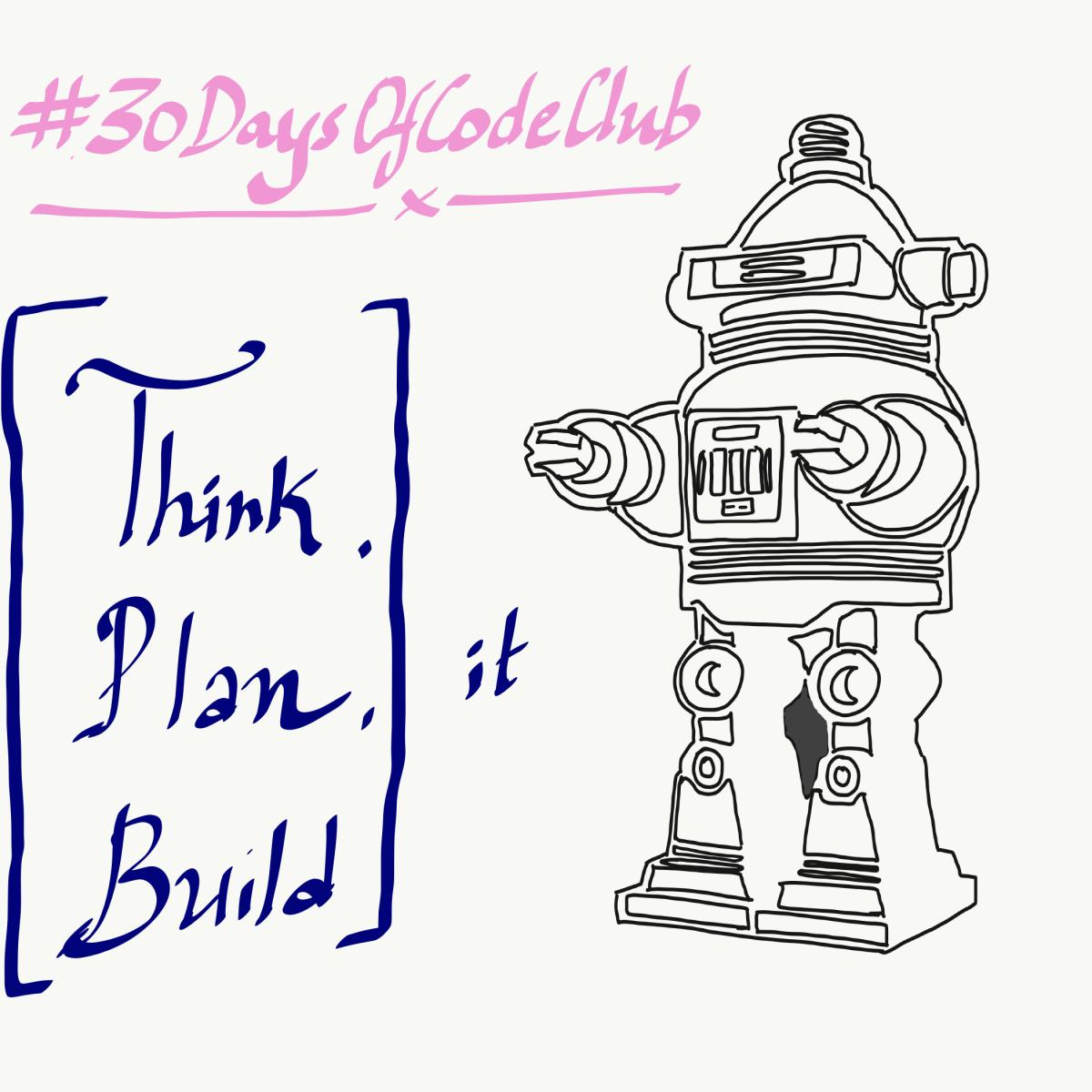 Think it, plan it, build it