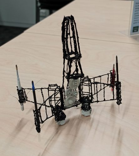 3D printing pen for fast prototyping in the classroom