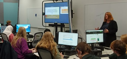 Cybersecurity 101 – An intro for high school students